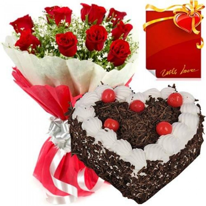 cake and flowers jamshedpur